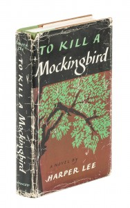 First Edition of To Kill a Mockingbird