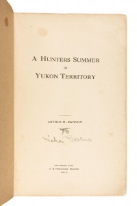 A Hunters Summer in Yukon Territory