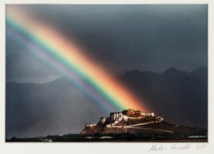 Rainbow over Potala Palace