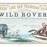 Clipper Ship Sailing Card for Wild Rover