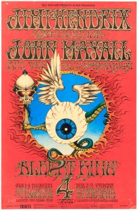 Jimi Hendrix Experience Rock Poster