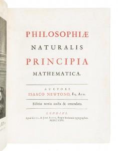 Newon's Principia