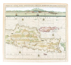 1728 Map of Java East