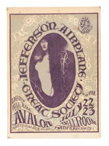 Jefferson Airplane 1966 Poster