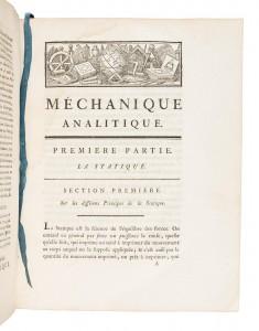 Lagrange's Mchanique Analitique