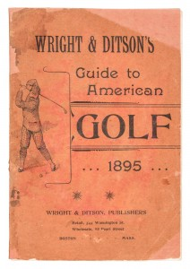 1895 Guide to American Golf