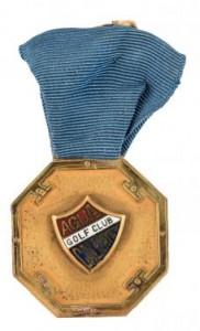 1933 Medal Awarded to Bobby Jones
