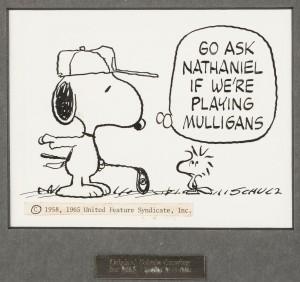 Original Snoopy Cartoon