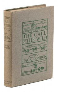 The Call of the Wild in beautiful dust jacket