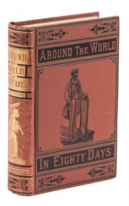 Around the World in Eighty Days in Dust Jacket