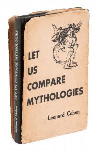 Leonard Cohen's rare first book, inscribed