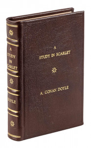 First American edition of the first Sherlock Holmes novel