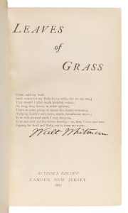 Whitman's Leaves of Grass