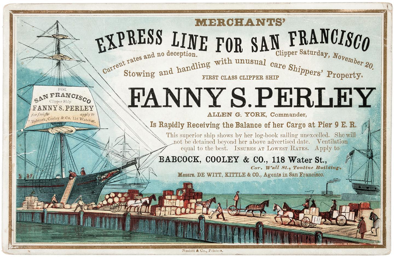 Clipper Ship Sailing Cards | PBA Galleries
