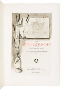 The Ristigouche and Its Salmon Fishing