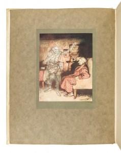 Rackham Illustrated A Christmas Carol