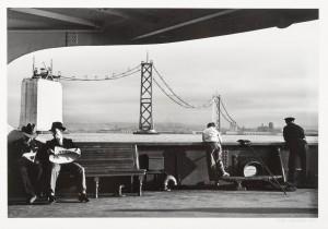 Construction of the SF-Oakland Bay Bridge