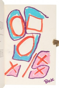Bukowski original art in South of No North