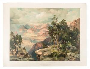 Thomas Moran's Grand Canyon Chromolithograph