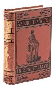 Around the World in Eighty Days in Dust Jacket