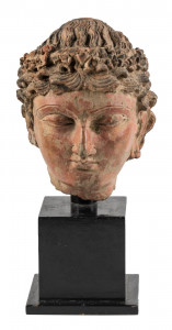 Alexander the Great - 4th Century Terracotta Sculpture