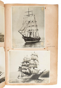 Original photos of sailing ships