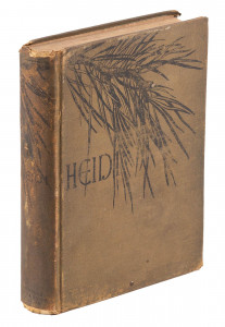 First American edition of Johanna Spyri's classic Heidi