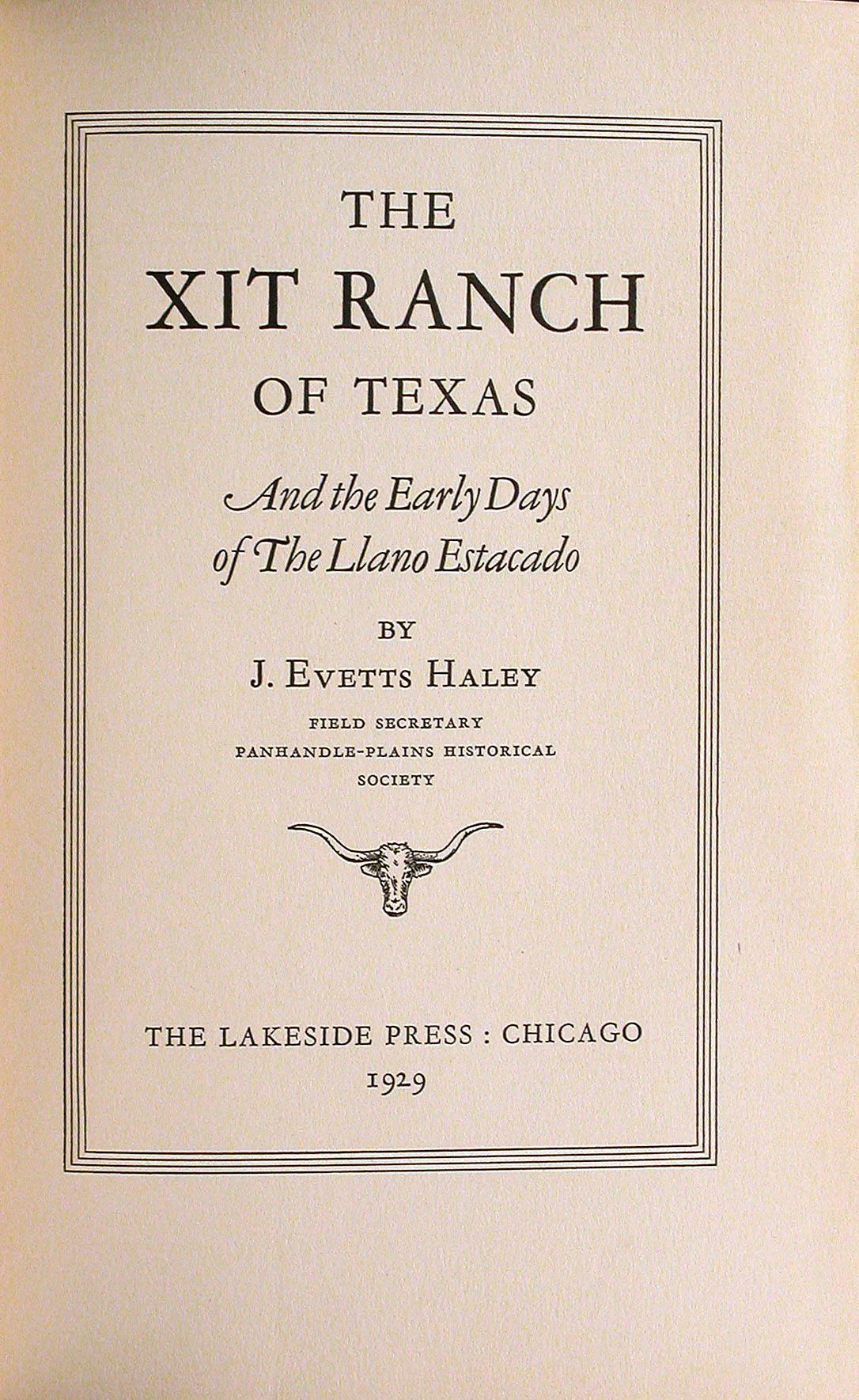 Map Of Xit Ranch Texas.The Xit Ranch Of Texas And The Early Days Of The Llano Estacado
