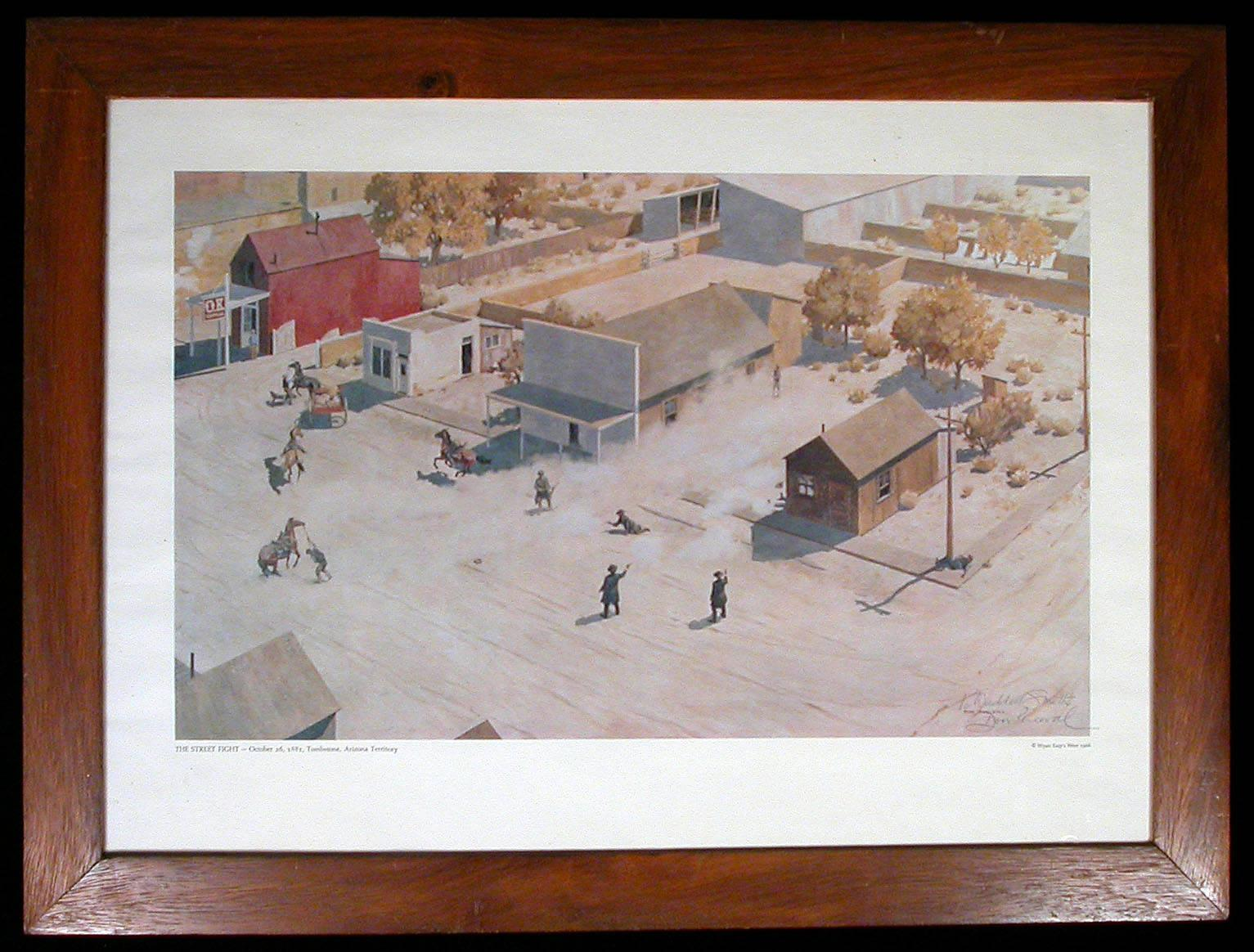 The Street Fight October 26 1881 Tombstone Arizona