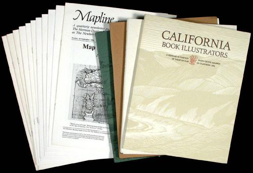 Large collection of various publications, exhibits, and other items...
