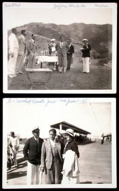 Lot of 3 vintage photographs from Bobby Jones' First Invitational...