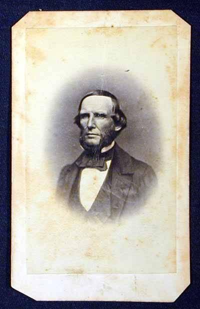 Carte De Visite Portrait Of Ben McCulloch