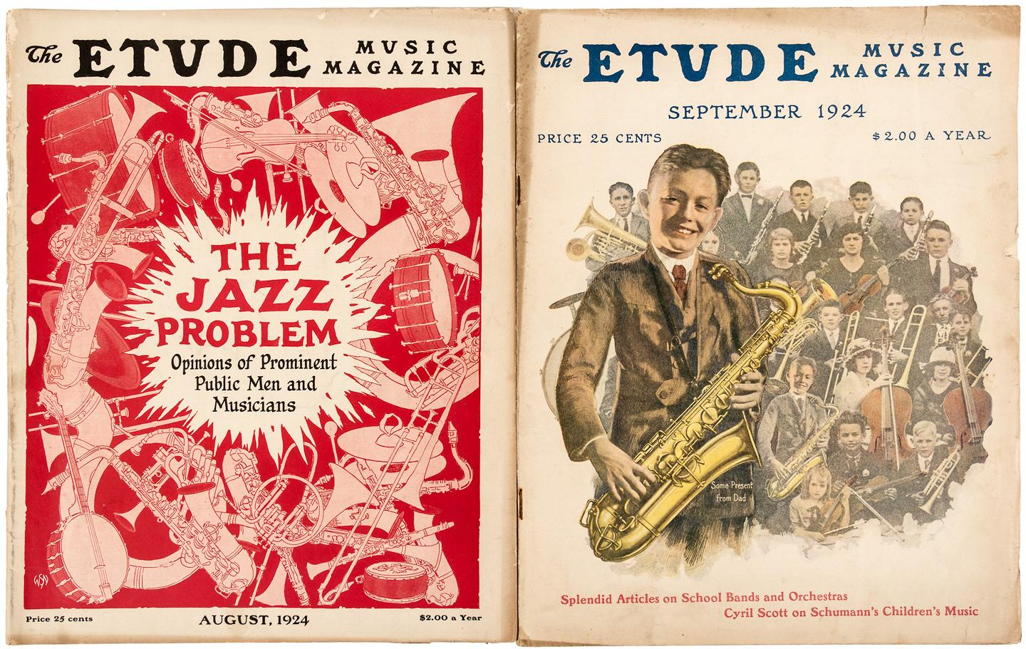 "Jazz Problem"" debated in classical music magazine - two volumes ..."