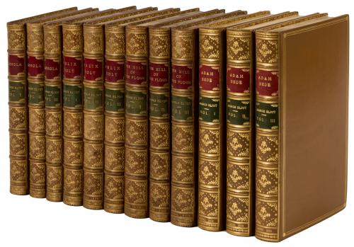 Works] - A complete set of first editions