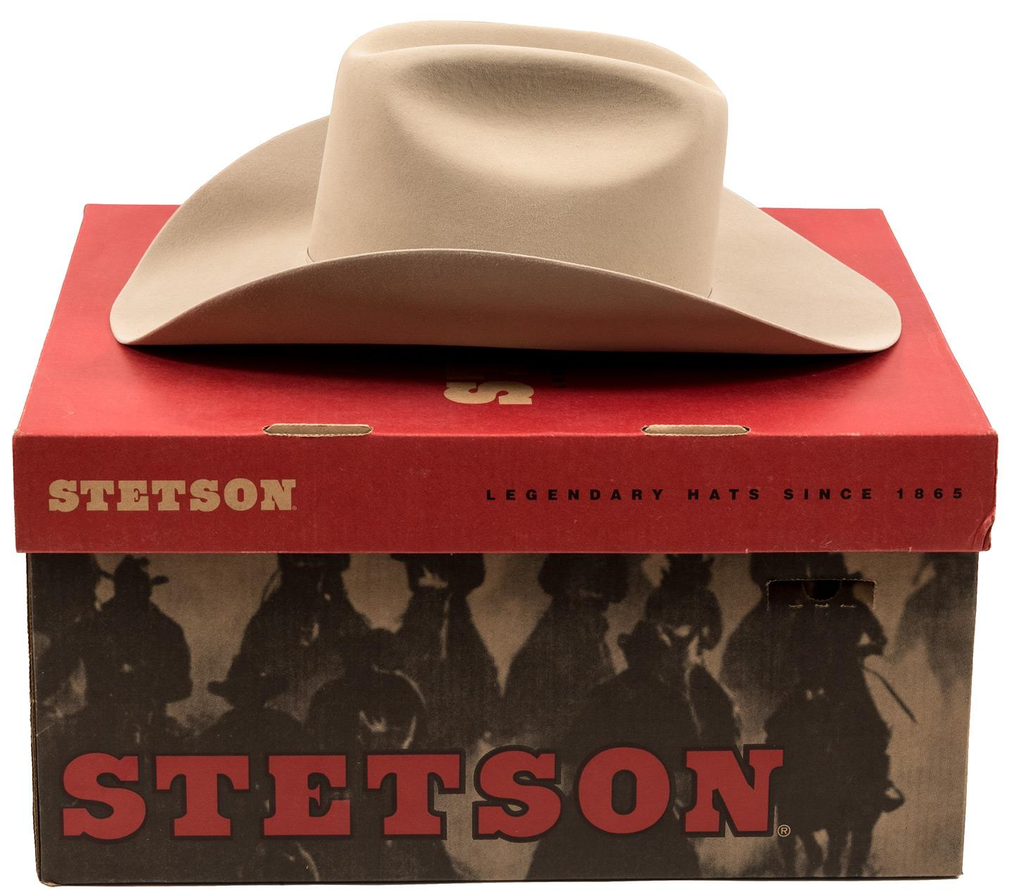 0c84df10e79 Vintage Stetson D4 Ranch 5X Tan Cowboy Hat - Price Estimate   200 -  300