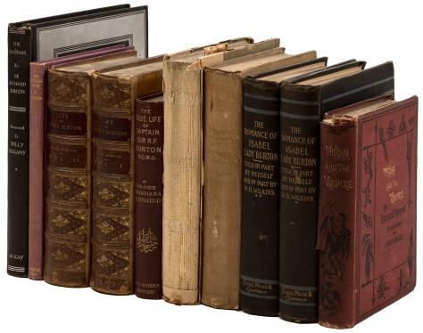 Eight titles by or about Sir Richard F. Burton