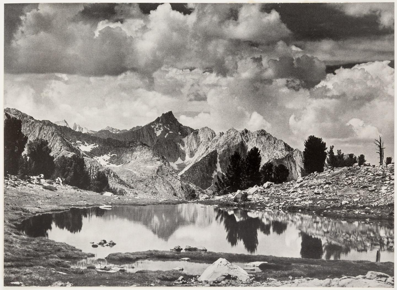 Image result for ansel adams sierra nevada the john muir trail