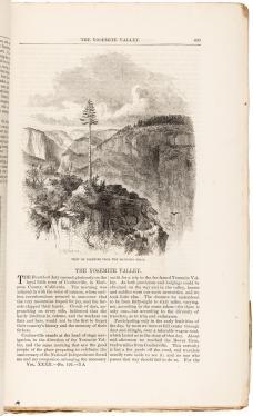 The Yosemite Valley [in] Harper's New Monthly Magazine, Volume 32, No. 192