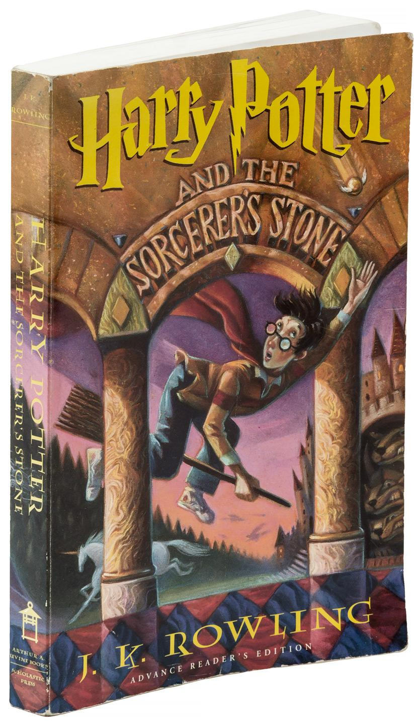 Harry Potter Book Value Guide : Harry potter and the sorcerer s stone advance reader