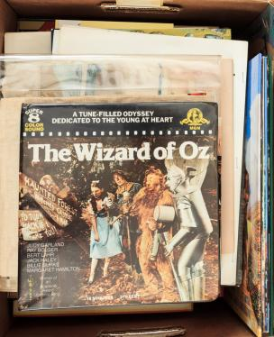 Large lot of miscellaneous Oz books, books about L. Frank Baum, and books...