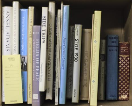 Nineteen volumes of Western Americana including Ansel Adams and New Mexico...