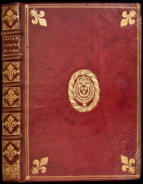 Hymni, Epigrammata et Fragmenta - finely bound, with the arms of Louis XIV