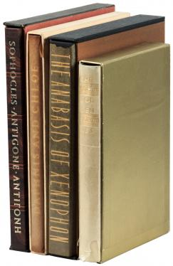 Four Greek and Latin classics published by Limited Editions Club