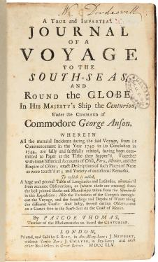 A True and Impartial Journal of a Voyage to the South-Seas, and Round the...