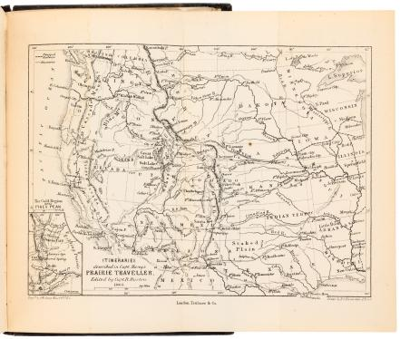 The Prairie Traveler. A Hand-Book for Overland Expeditions, with...