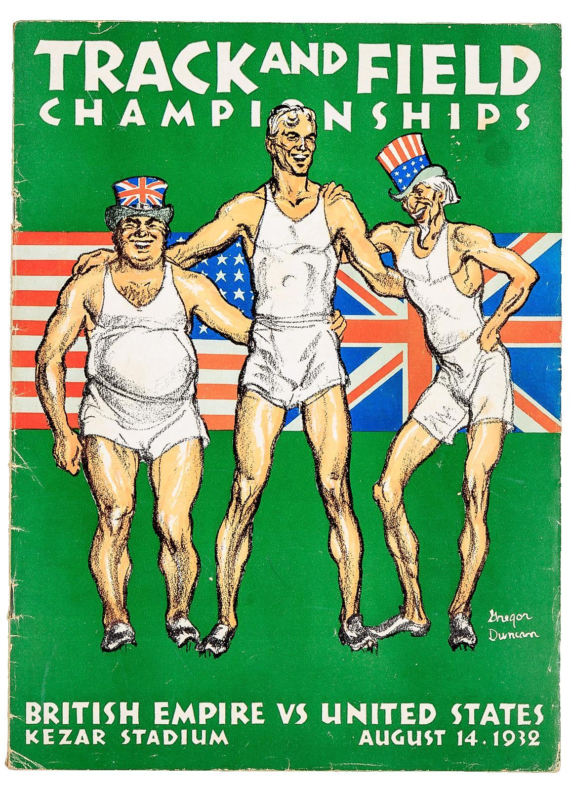 Track and Field Championships / British Empire vs  United States