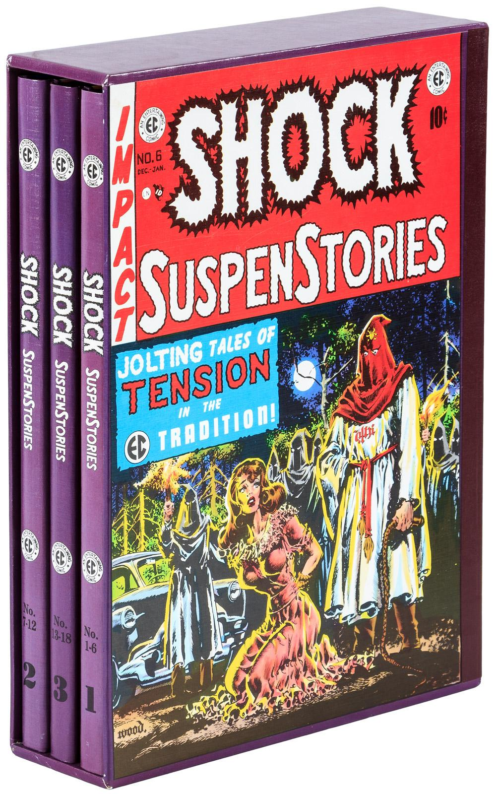 Complete Shock SuspenStories - Price Estimate: $100 - $150
