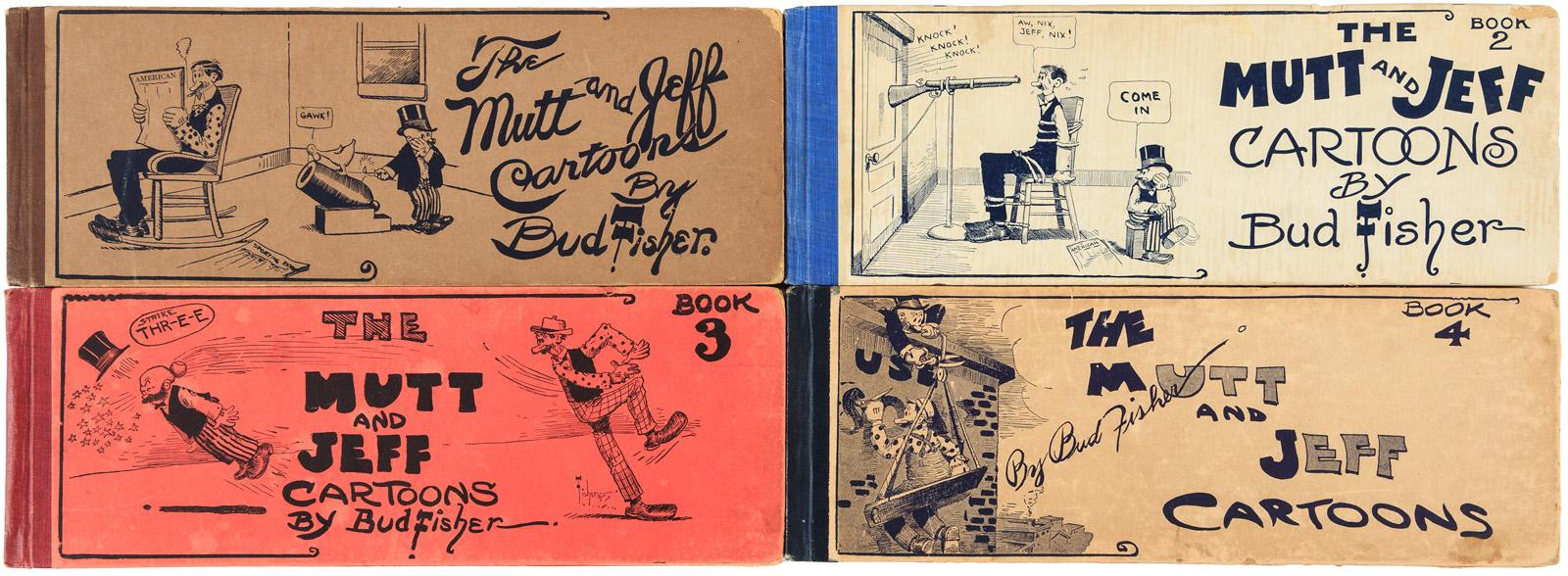 Four Volumes of Mutt and Jeff - Price Estimate: $150 - $250