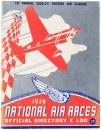 1939 National Air Races, Official Directory & Log