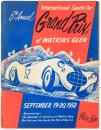 5th Annual International Sports Car Grand Prix of Watkins Glen, September 19-20, 1952
